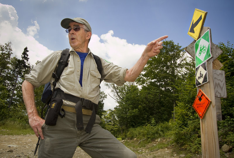 At a spry 72, David Field can point to a long list of lifetime achievements in enhancing the Appalachian Trail – and he's still pondering new paths that can connect more of the state's mountain peaks.