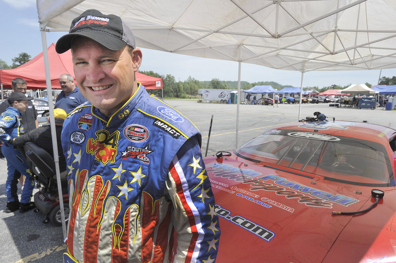 He may be Kevin Powell around these parts, but in the Winston-Salem, N.C., area, he's Krazy Kevin Powell, the owner of car and motorcycle dealerships. This weekend he's at Oxford Plains Speedway, looking for a victory in the TD Bank 250.