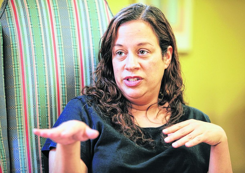 Shelly Fasano speaks about her experience with her 3-year-old daughter at McAuley Residence.