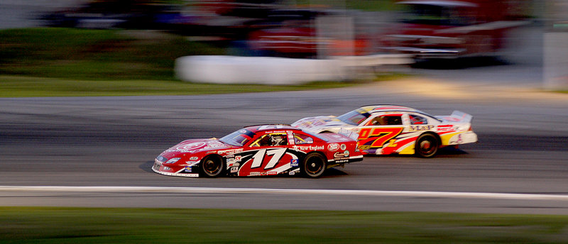 Travis Benjamin, running in car No. 17 on Sunday, became the first Mainer since Jeremie Whorff seven years ago to win the TD Bank 250 at Oxford Plains Speedway in Oxford.