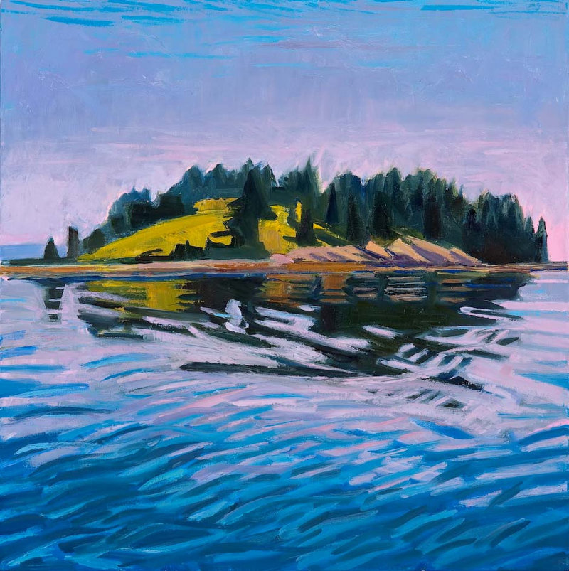 """""""Pond Island"""" by Louise Bourne"""