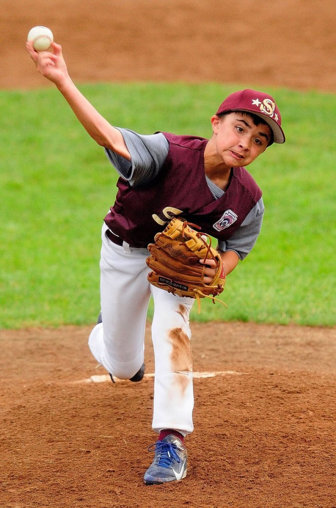 Luke Chessie allowed three hits in four innings and struck out seven, making up for a loss to Bayside earlier in the week and helping Saco to the Little League state championship.