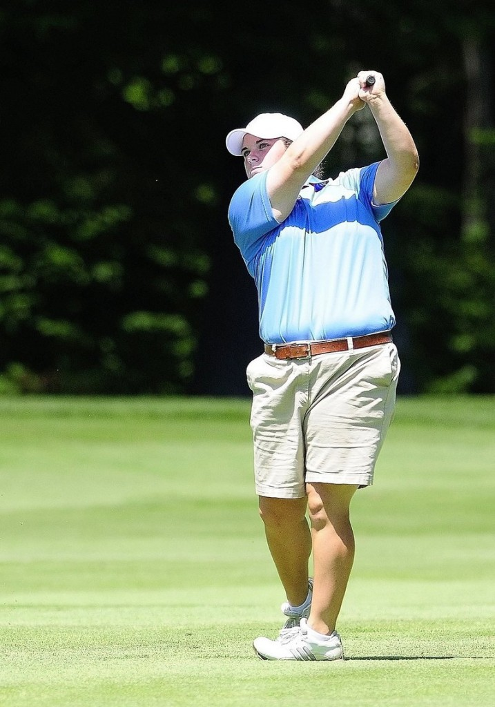 Emily Bouchard of Saco is coming off a fifth-place finish in the New England Amateur as she begins defense of her Maine Women's Amateur title at Brunswick Golf Course.