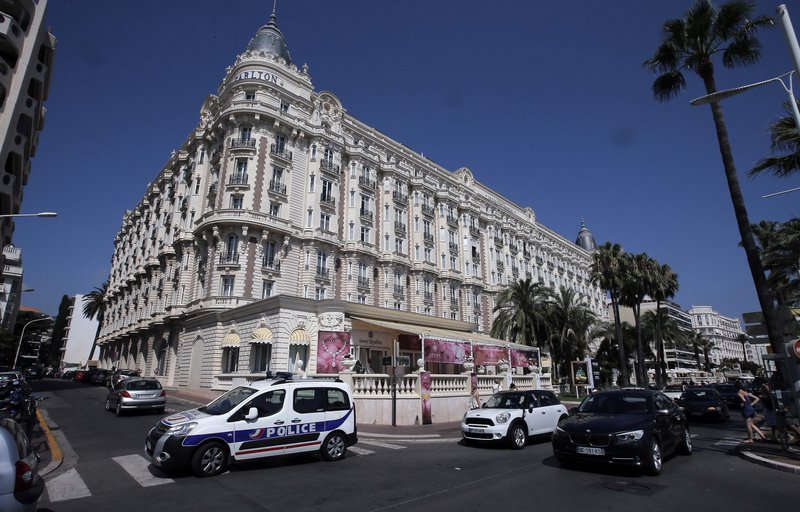 The Carlton Intercontinental Hotel in Cannes, France, was the scene of a daylight robbery Sunday in which $53 million worth of jewels and diamonds were stolen.