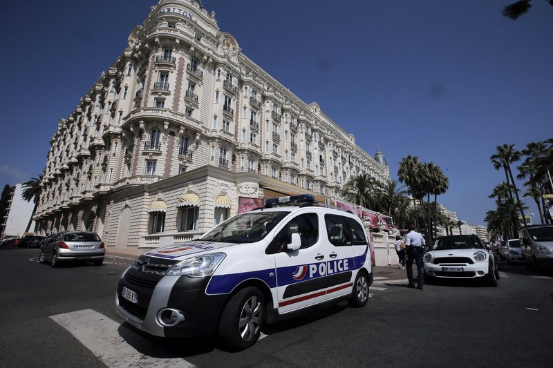 The Carlton hotel in Cannes, southern France, was the scene of a daylight heist Sunday in which a staggering $136 million worth of jewels and diamonds were stolen.