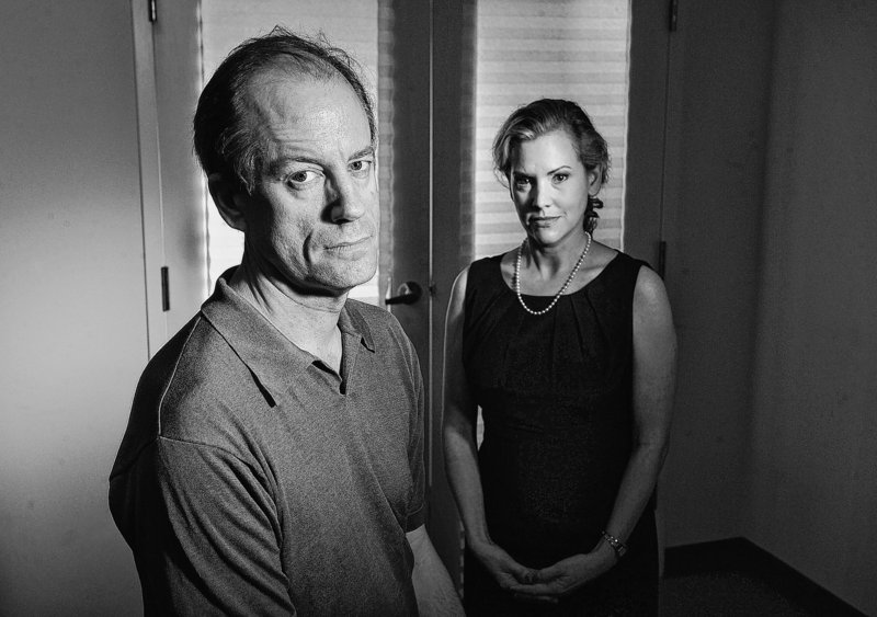Thomas Drake, left, and Jesselyn Radack are shown at the offices of the Government Accountability Project in Washington. Drake, who worked at the National Security Agency, is now an Apple store employee; Radack is director of national security and human rights at GAP, a whistleblowers' advocacy organization.