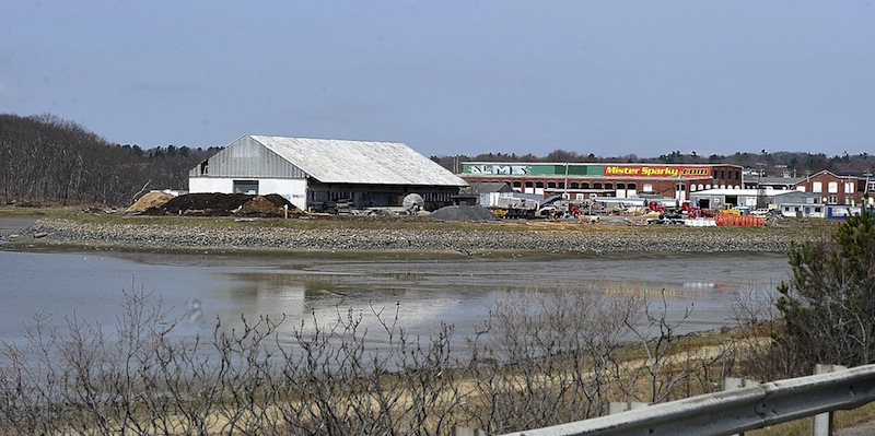 In this 2011 file photo, Thompson's Point in Portland. he developers of a $100 million project on Thompson's Point say they reached an agreement Monday with the owner of Suburban Propane's Fore River facility to relocate the operation to another site in Portland, clearing the way for an events center.
