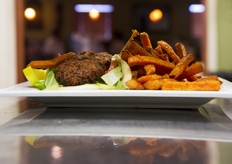A meal sits ready to be served in Jimmy the Greek's kitchen recently. The restaurant's owner used what's known as a 504 loan from the U.S. Small Business Administration to open its second location, at The Maine Mall, in 2011.