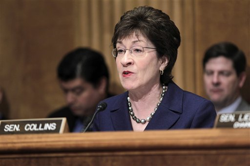 """Republican Sen. Susan Collins: """"The numbers in our bill are not unrealistic."""""""