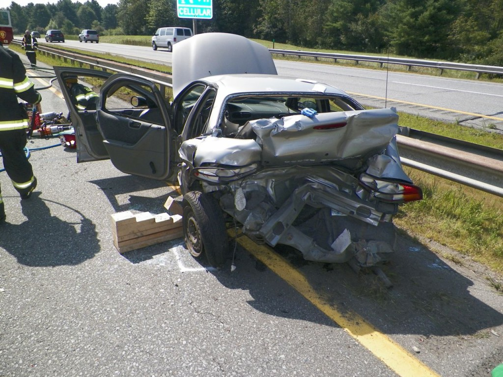 Wanda Brochu was trapped in her vehicle until firefighters could extricate her with the jaws of life, police said.