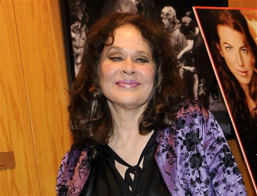 """Actress Karen Black, a cast member in """"Irene in Time,"""" appears at the premiere of the film in Los Angeles in this June 2009 photo."""