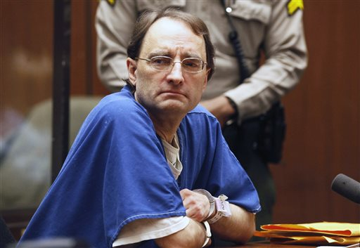 Christian Karl Gerhartsreiter, 52, appears during his sentencing at a Los Angeles court in San Marino, Calif. on Thursday.