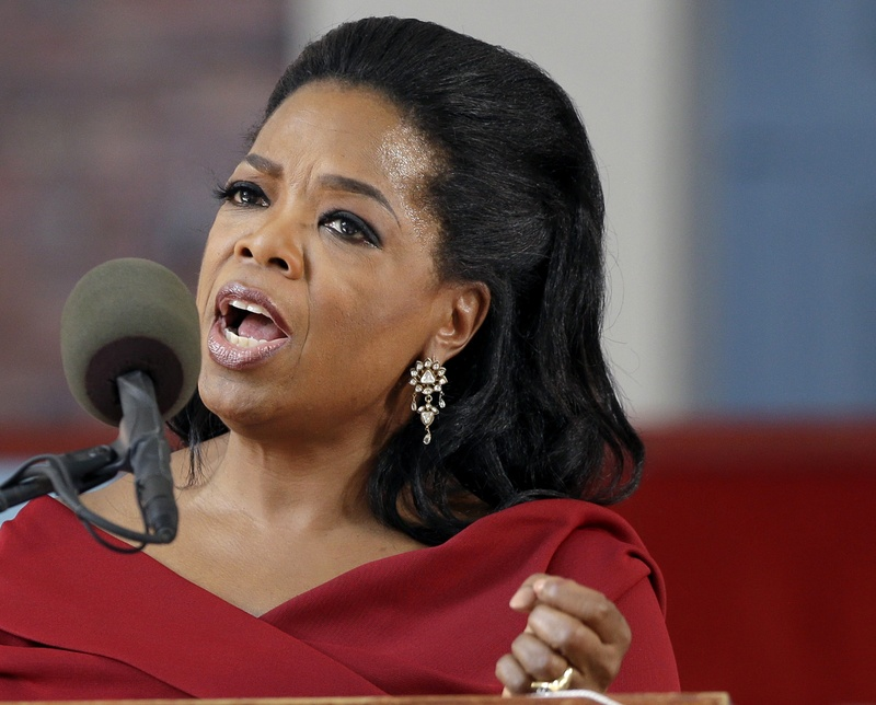 """Oprah Winfrey told the U.S. program """"Entertainment Tonight"""" that a shop assistant in Zurich refused to show her black handbag because it was """"too expensive"""" for her."""