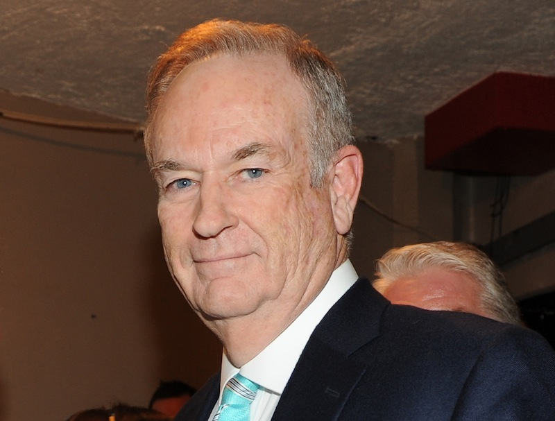 This Oct. 13, 2012 file photo shows Fox News commentator and author Bill O'Reilly at the Comedy Central