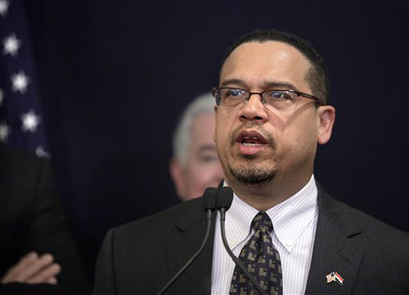 Rep. Keith Ellison, D-Minn., says he would end aid to Egypt. Ellison is the first Muslim elected to Congress and is co-chairman of the Congressional Progressive Caucus.