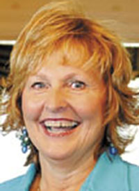 "Ann LePage: ""Military service men and women and their families have a special place in my heart."