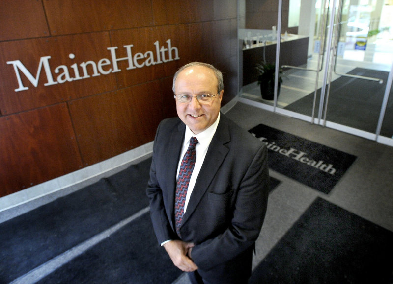 CEO Bill Caron oversees a MaineHealth network that employs about 16,000 people and has nearly $2 billion in annual revenue. In fiscal 2011 he earned a base salary of $1,058,110, according to IRS filings.