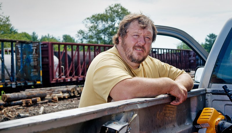 With the rail line to Quebec blocked, logs are now being shipped to customers by truck rather than by train, said Dan Preble, a log buyer in Brownville. In recent days, however, some train cars filled with logs have been re-routed to Quebec on other railroads, he said.