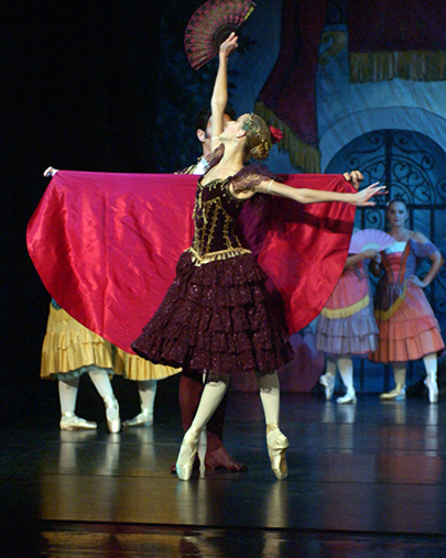 "Maine State Ballet will perform ""Don Quixote"" at its theater in Falmouth beginning on Friday."