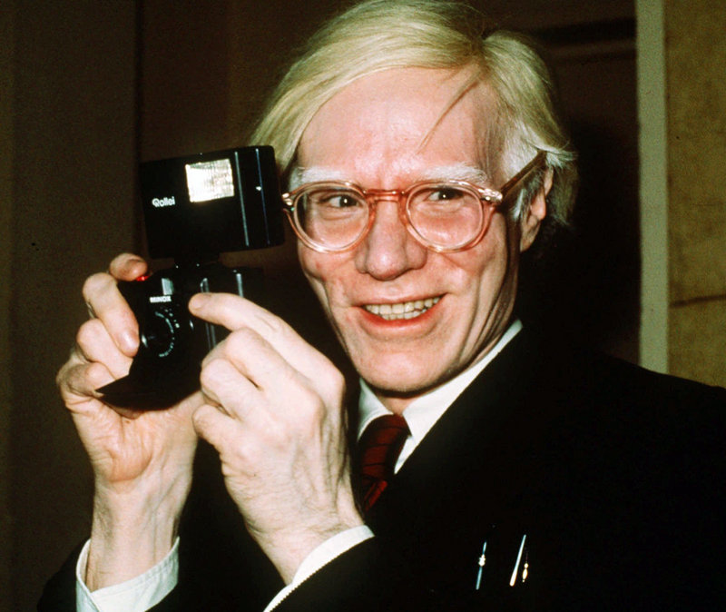 Artist Andy Warhol, who died in 1987, would have been 85 Tuesday. A live video feed from his grave site will honor the day.