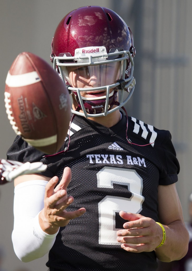 Allegations have been made that Johnny Manziel of Texas A&M, the Heisman Trophy winner, was paid to provide autographs.
