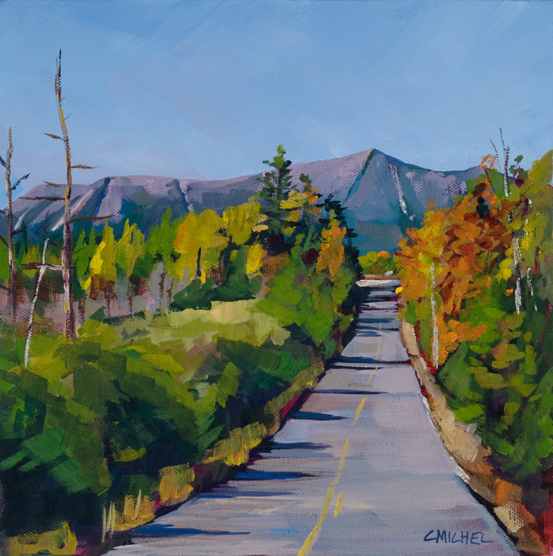 """""""Heading to Baxter,"""" by Caren-Marie Michel"""