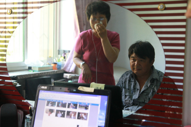 Xu Min, 53, of Panjin and his wife lost their 23-year-old son in a car accident last September. A devastating consequence of China's one-child policy is the growing number of parents left childless when their only child dies.
