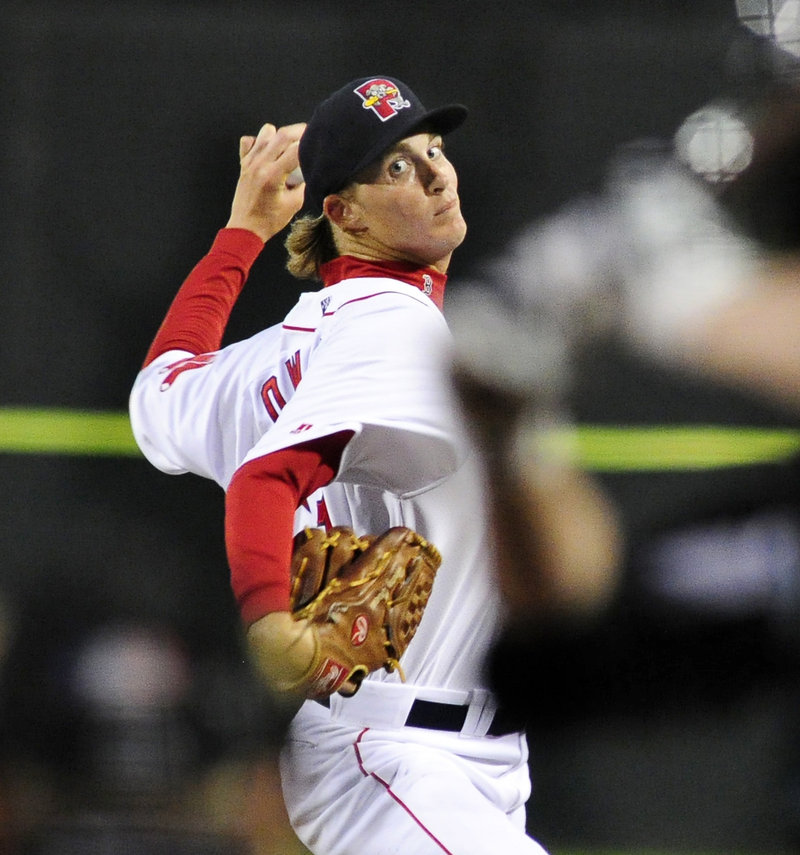 Henry Owens didn't figure in the decision, but his second straight strong showing in Double-A must have Boston intrigued.