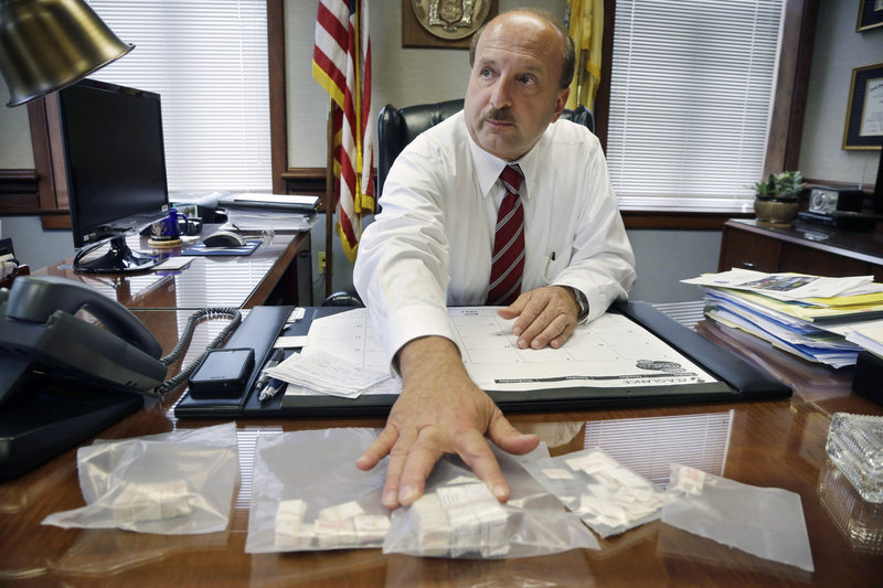 """""""We're going to be ruthless,"""" says prosecutor Joseph Coronato of Ocean County, N.J., where 75 overdose deaths have occurred this year. """"We're looking for long-term prison sentences."""""""