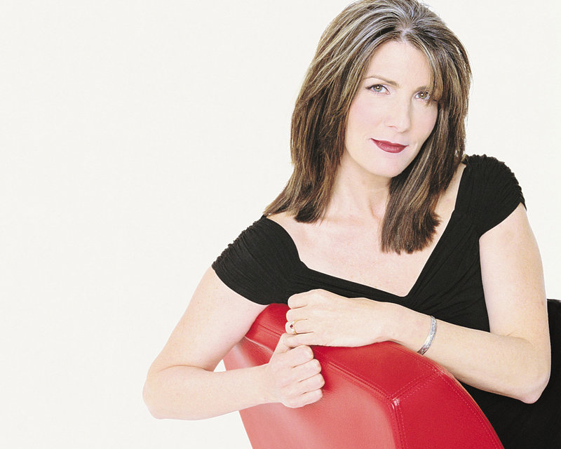 Singer-songwriter Kathy Mattea performs at the Opera House at Boothbay Harbor on Friday.