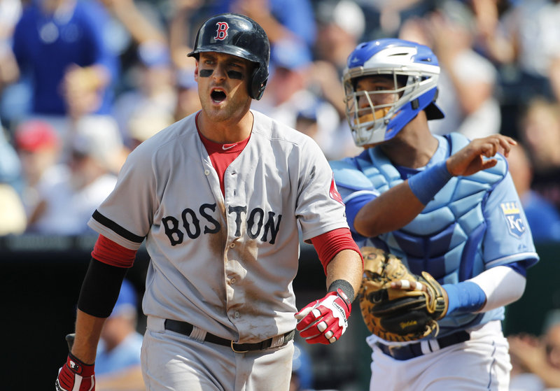 Will Middlebrooks has contributed since returning to the Red Sox, but the team would do well not to add pressure on him to become the needed right-handed power hitter.