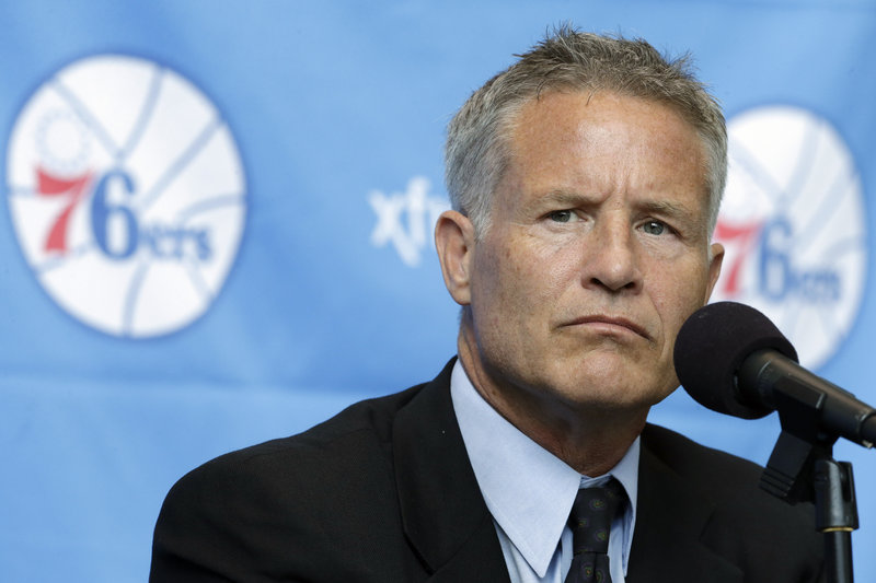 Brett Brown, who played at South Portland High, knows coaching a rebuilding team is a daunting task, but all he sees is the potential huge upside.