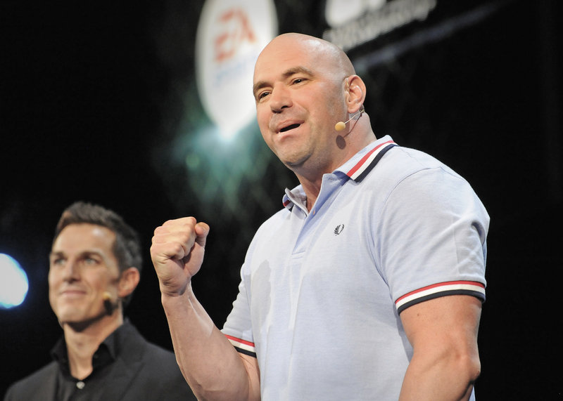 Dana White took over the UFC in 2001 when he bought it with other investors for a reported $2 million.