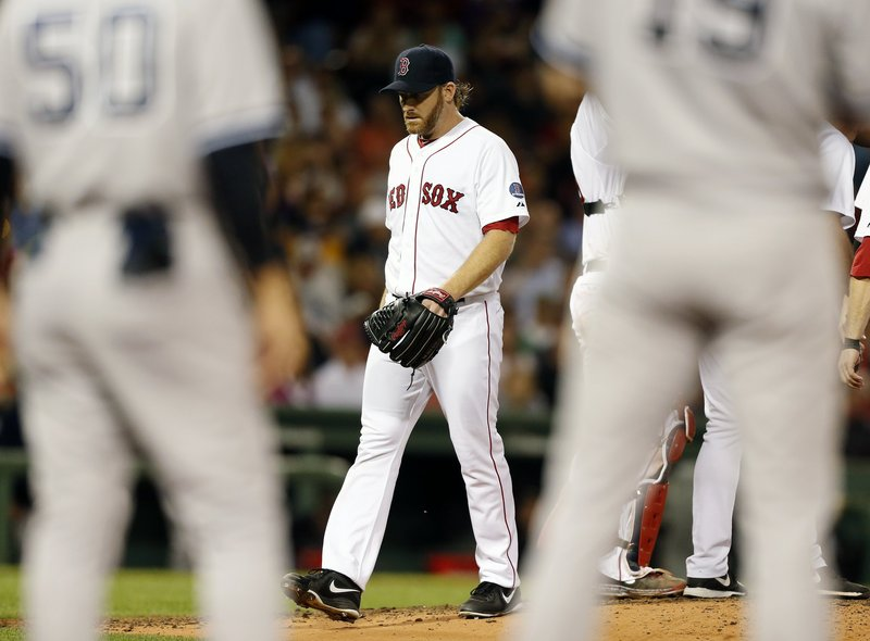 Red Sox starter Ryan Dempster had an eventful night at Fenway Park but couldn't hold on to a three-run lead as the Yankees knocked him out of the game in the sixth inning. Dempster was charged with seven runs, and Boston lost 9-6.