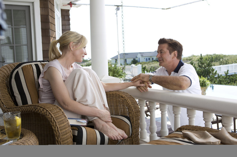 "Cate Blanchett and Alec Baldwin in ""Blue Jasmine,"" a film directed by Woody Allen that Baldwin says has striking similarities to the Tennessee Williams play ""A Streetcar Named Desire."""