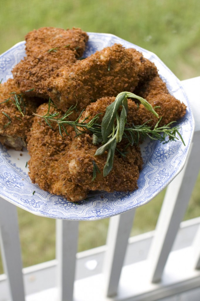 """J.M. Hirsch, food editor for The Associated Press, calls this """"The best fried chicken you'll ever eat at home."""""""