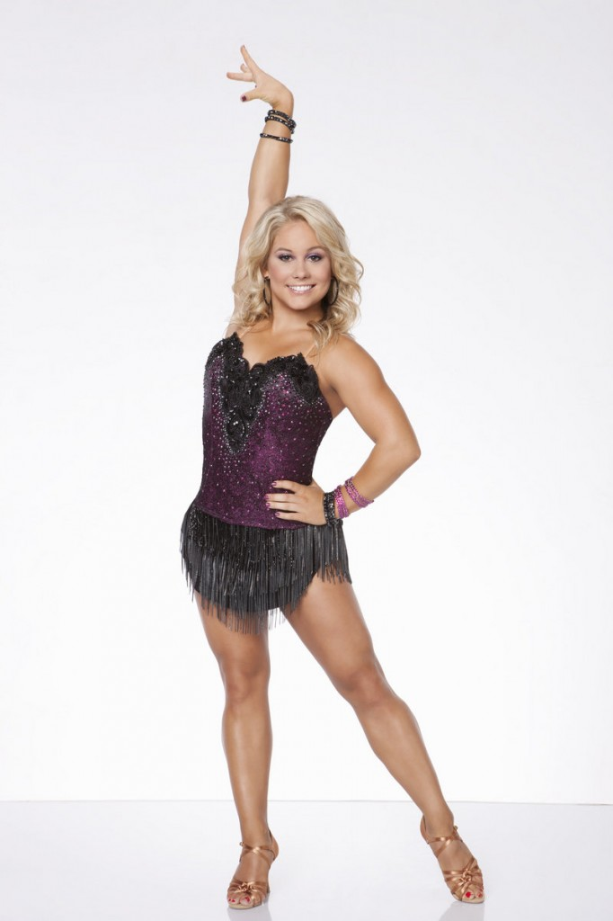 "Olympic gymnastics gold medalist and ""Dancing with the Stars"" champion Shawn Johnson, above, and ""Dancing with the Stars"" celebrity pro Dmitry Chaplin, below, star in ""Ballroom with a Twist,"" a song-and-dance extravaganza running Tuesday through Aug. 31 at the Ogunquit Playhouse."