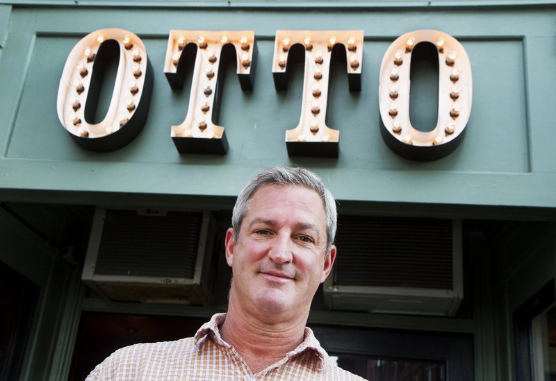 Mike Keon started Otto Pizza with Anthony Allen in downtown Portland in 2009. By October they will have eight locations.