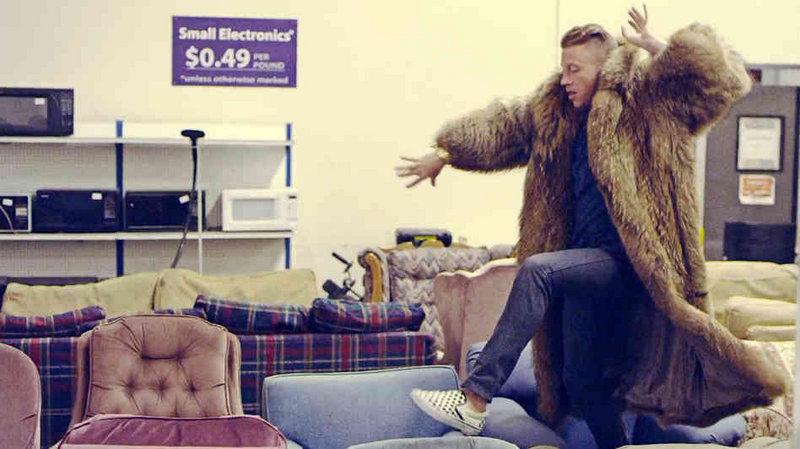 """Nominees for Video of the Year include Macklemore & Ryan Lewis for """"Thrift Shop."""""""