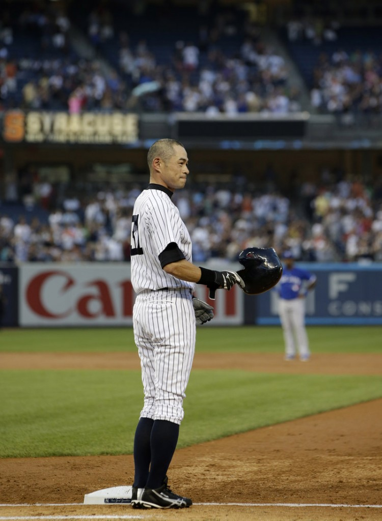 "Ichiro Suzuki was ""overwhelmed"" by the reaction of teammates and fans on Wednesday night."