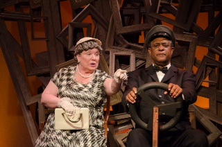 "Tinka Darling and Michael Turner star in ""Driving Miss Daisy,"" Wednesday through Friday at Hackmatack Playhouse in Berwick."