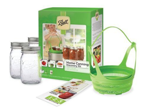 Ball's Home Canning Discovery Kit costs less than $10 and can be found at Shaw's and Hannaford.