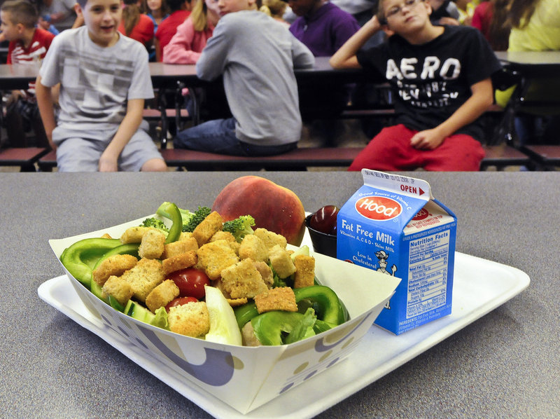 Some healthy lunches, prepared under federal guidelines, were not well received by every student. Cafeterias began losing money and some schools dropped out of the program.