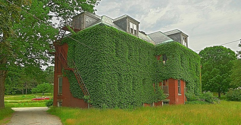 """Stevens School in Hallowell, which was founded as a school for """"wayward girls"""" in the 19th century, was one of 12 sites on the list."""