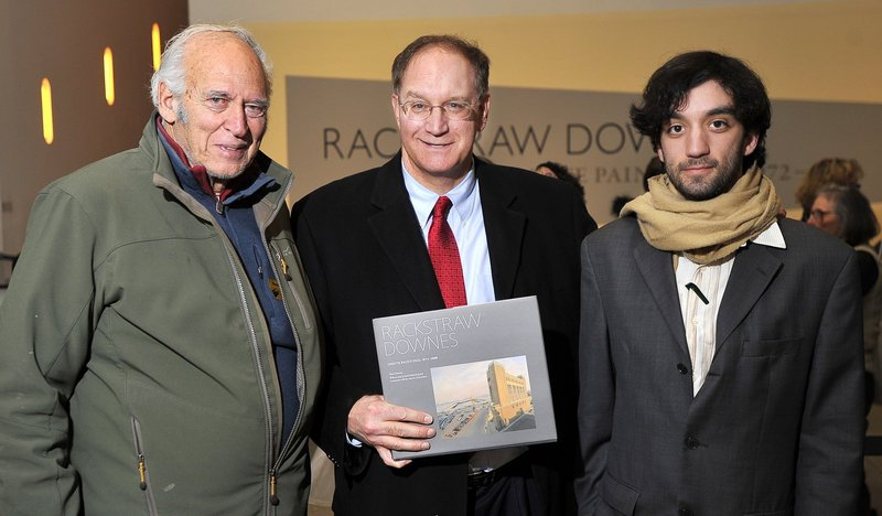 In this January 2011 file photo, Joe Soley, David Soley and Dan Soley at a book signing at the Portland Museum of Art. Joe Soley's 5 Monument Square LLC bought the People's United Bank Building at 465 Congress St. on Aug. 22 for $5.6 million