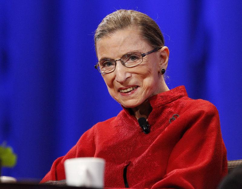 When Justice Ruth Bader Ginsburg presides over the landmark wedding Saturday, it will be another high-profile moment for her.