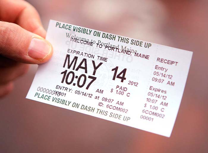 Motorists using the pay stations get a receipt to place on the vehicle's dashboard to show that they have paid for a certain period of time. If a purchased ticket still has time remaining, it can be used at a different parking spot elsewhere in the city.