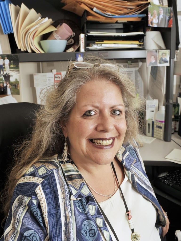 Michele Sturgeon, Portland's Health Inspector, in her City Hall office on Wednesday, August 15, 2012.