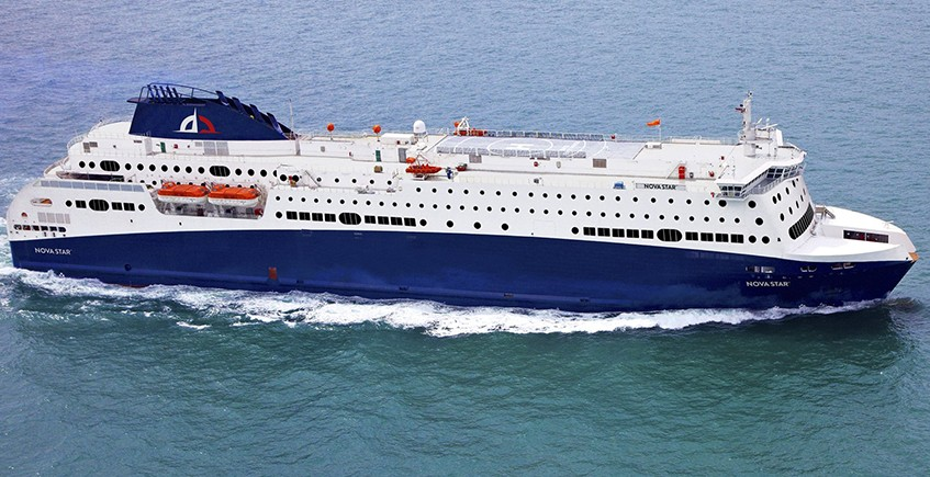 The Nova Star cruise ferry carried an average of 112 passengers per trip in June, up slightly from May but still just one-tenth of its capacity.