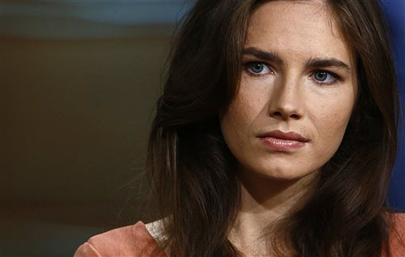 "Amanda Knox, in an interview on the ""Today"" show Friday, defends her decision not to return to Italy for a new appeals trial over the 2007 killing of her British roommate, insisting she is innocent. Episodic;NUP_158228"